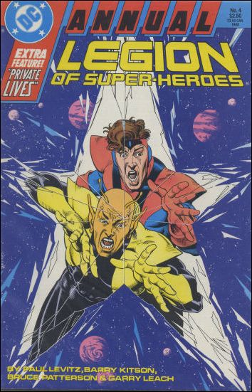 Legion of Super-Heroes Annual '4'-A by DC