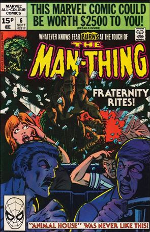Man-Thing (1979) 6-B