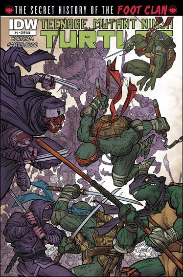 Teenage Mutant Ninja Turtles: The Secret History of the Foot Clan 1-B by IDW
