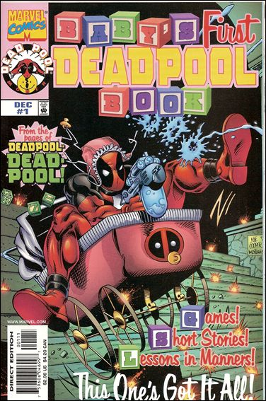 Baby's First Deadpool Book 1-A by Marvel