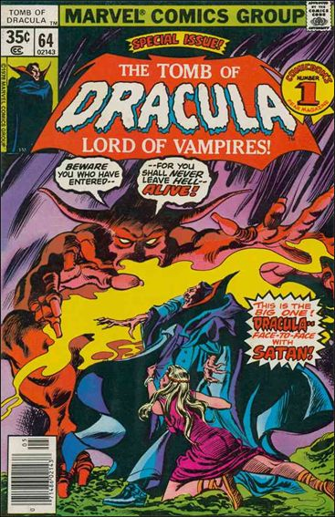 Tomb of Dracula (1972) 64-A by Marvel
