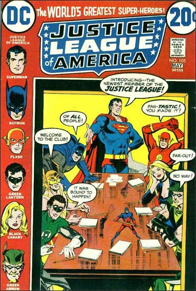 Justice League of America (1960) 105-A by DC