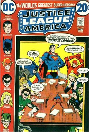 Justice League of America (1960) 105-A