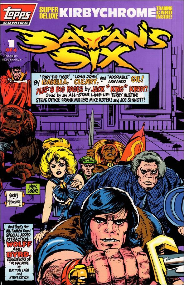 Satan's Six 1-B by Topps