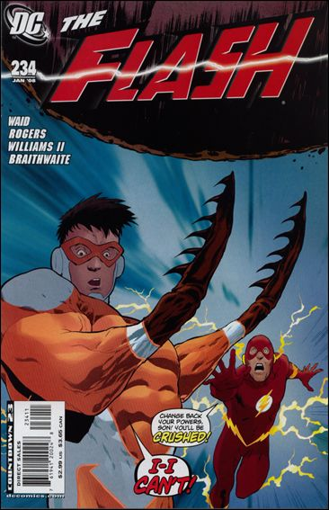 Flash (1987) 234-A by DC