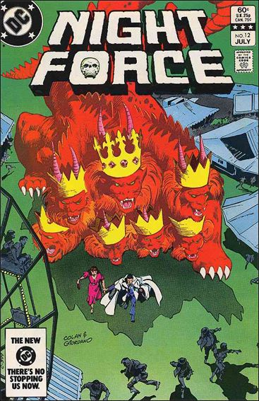 Night Force (1982) 12-A by DC