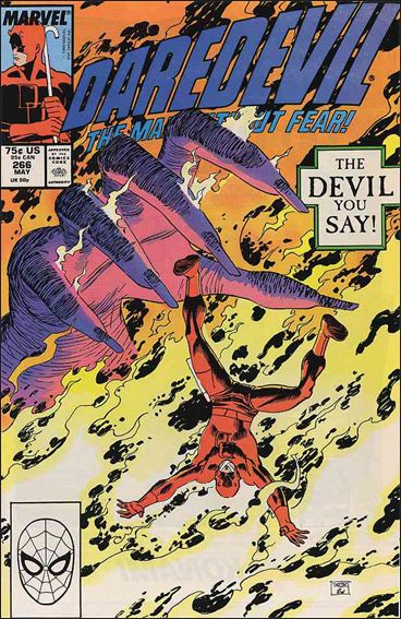 Daredevil (1964) 266-A by Marvel