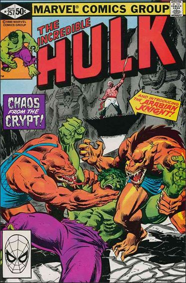 Incredible Hulk (1968) 257-A by Marvel