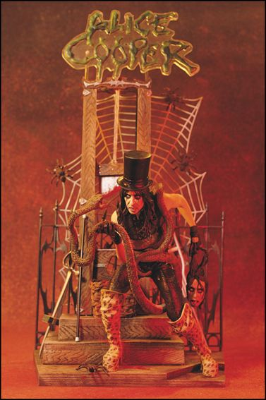 Alice Cooper Alice Cooper by McFarlane Toys