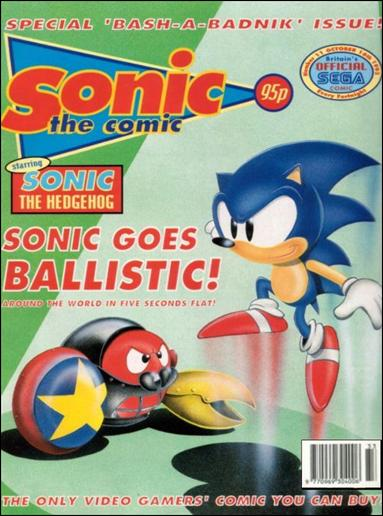Sonic the Comic 11-A by Fleetway