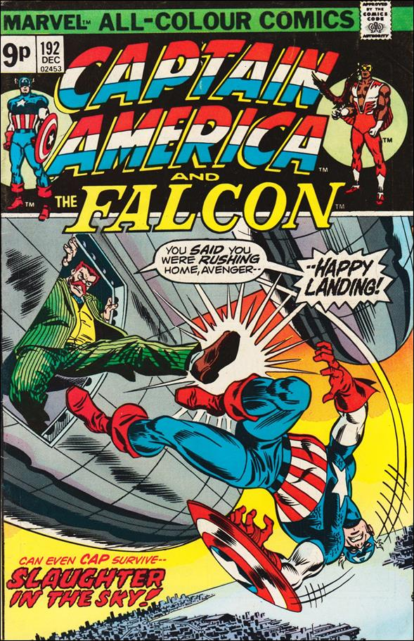 Captain America (1968) 192-B by Marvel