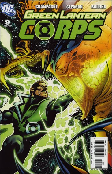 Green Lantern Corps (2006) 9-A by DC