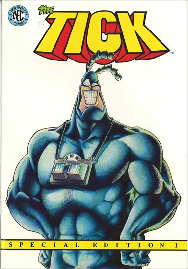Tick (1988) 1-A by New England Comics Press (NEC / NECP)