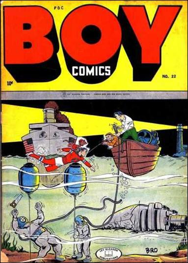 Boy Comics 22-A by Lev Gleason Productions