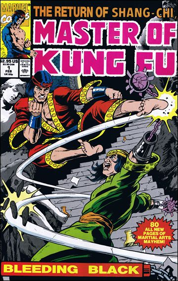 Master of Kung Fu: Bleeding Black 1-A by Marvel