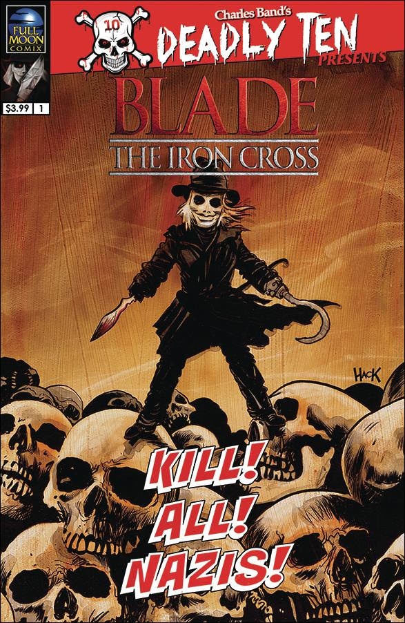 Deadly Ten Presents: Blade the Iron Cross 1-A by Full Moon