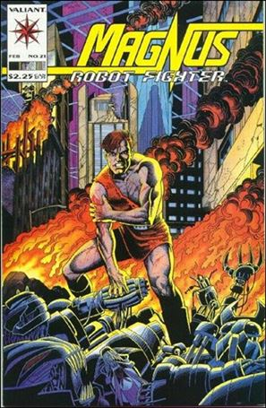 Magnus Robot Fighter (1991) 21-A