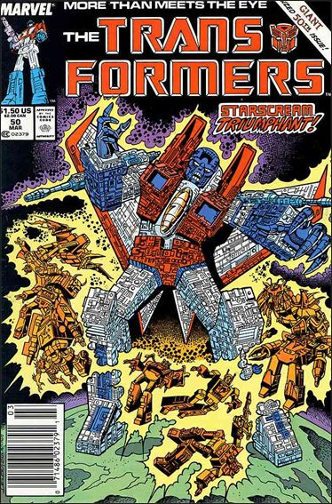 Transformers (1984) 50-A by Marvel