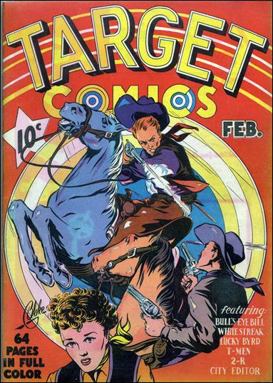 Target Comics (1940) 1-A by Novelty Press