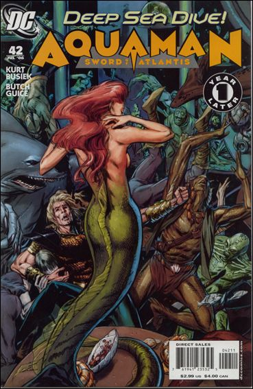 Aquaman: Sword of Atlantis 42-A by DC