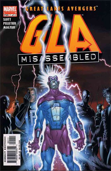 G.L.A. 1-A by Marvel