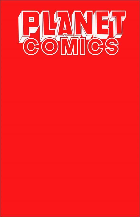 Planet Comics Sketchbook nn-C by Antarctic Press