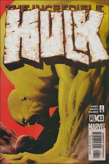 Incredible Hulk (2000)  43-A by Marvel