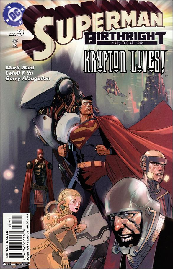 Superman: Birthright 9-A by DC