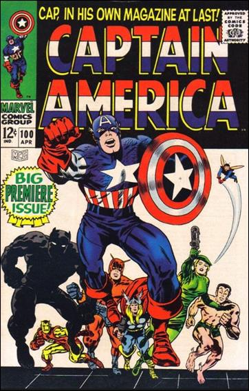 Captain America (1968) 100-A by Marvel