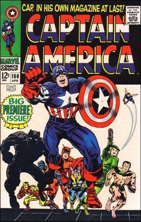 Captain America (1968) 100-A
