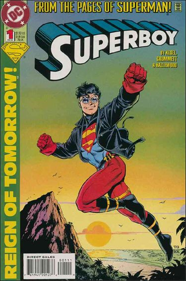 Superboy (1994) 1-A by DC