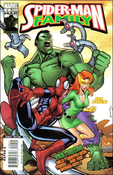 Spider-Man Family (2007) 9-A by Marvel