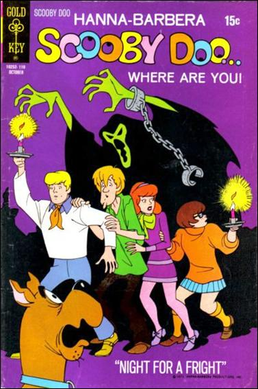 Scooby Doo, Where Are You? (1970) 8-A by Gold Key