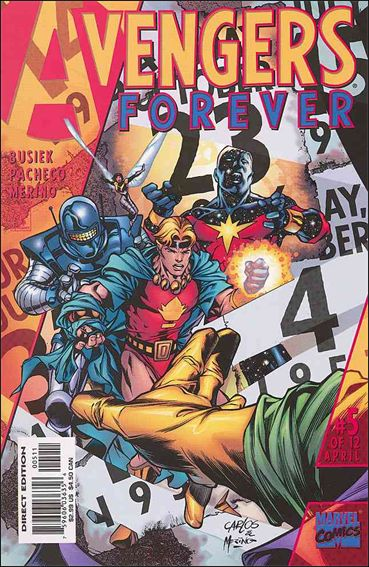 Avengers: Forever 5-A by Marvel