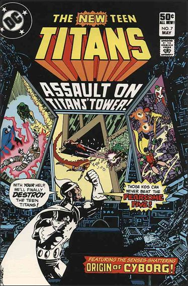 New Teen Titans (1980) 7-A by DC