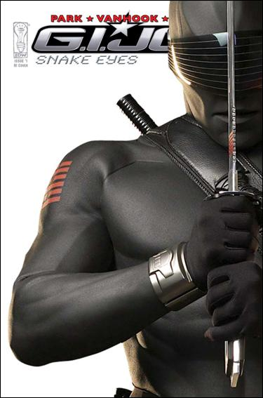 G.I. Joe: Snake Eyes (2009) 1-B by IDW