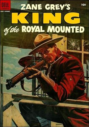 King of the Royal Mounted 16-A