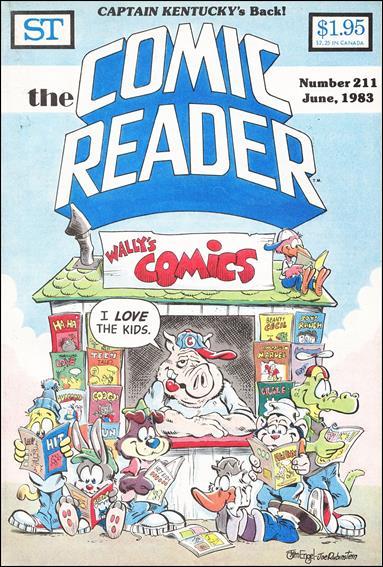 Comic Reader 211-A by Street Enterprises