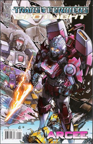 Transformers Spotlight nn12-A by IDW