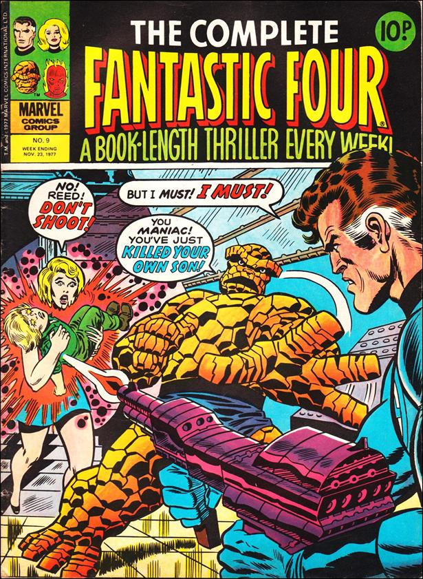 Complete Fantastic Four (UK) 9-A by Marvel UK