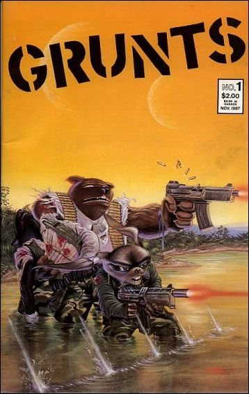 Grunts (1987) 1-A by Mirage
