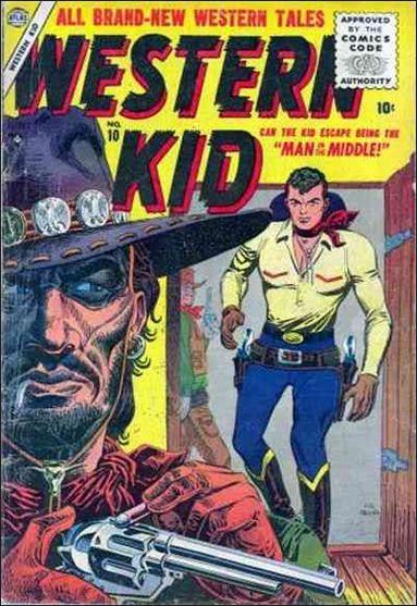 Western Kid (1954) 10-A by Atlas