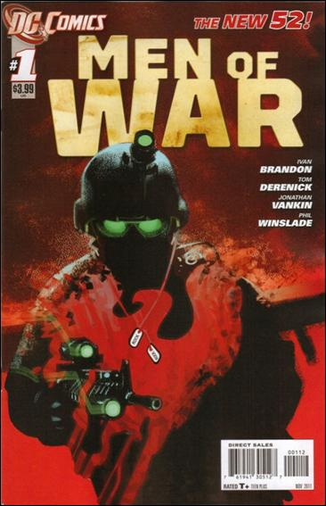 Men of War (2011) 1-B by DC