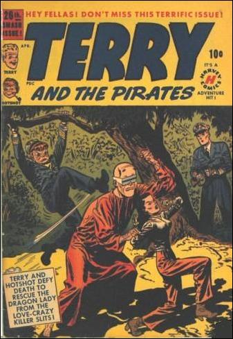 Terry and the Pirates Comics 26-A by Harvey