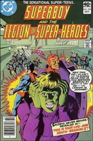 Superboy & the Legion of Super-Heroes 256-A