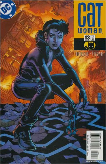 Catwoman (2002) 13-A by DC