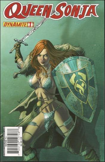 Queen Sonja 1-C by Dynamite Entertainment