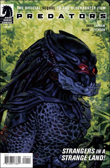 Predators: Preserve the Game 1-A by Dark Horse