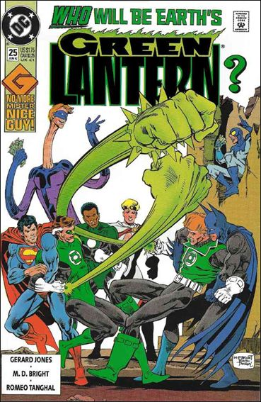 Green Lantern (1990) 25-A by DC