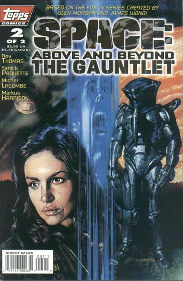 Space: Above and Beyond - The Gauntlet 2-A by Topps